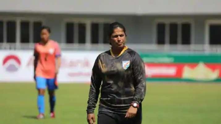 maymol rocky, indian football team, india womens football team