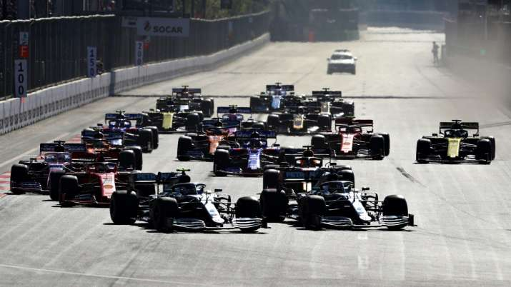 Formula 1 cancels races in Azerbaijan, Singapore, Japan