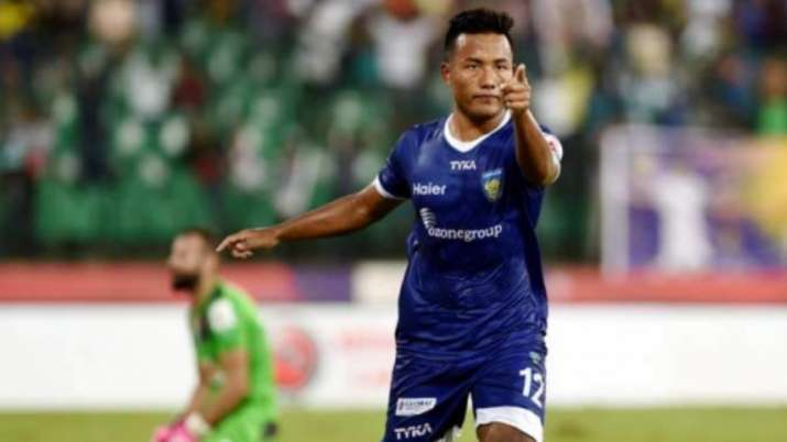 Striker Jeje Lalpekhlua takes part in online gaming event to aid family of volunteer who died during