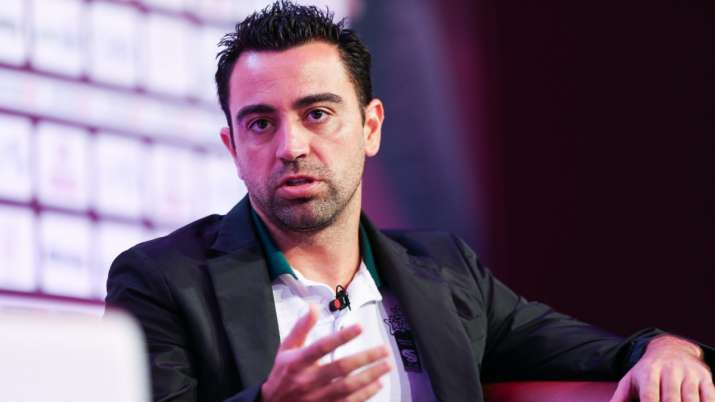 Xavi talks up Barcelona job as unrest reports within Camp Nou intensify