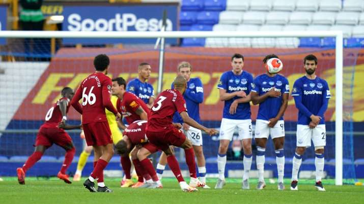 India Tv - Liverpool held at Everton