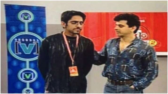 Throwback picture of Ayushmann Khurrana from his singing days with Palash Sen goes viral