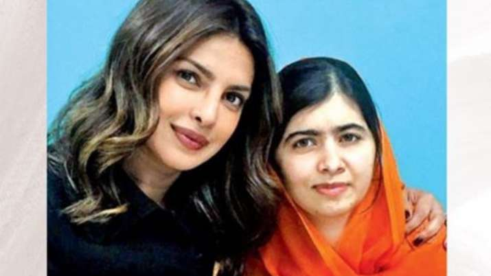 Priyanka Chopra tells Malala: Your degree from Oxford is such an achievement