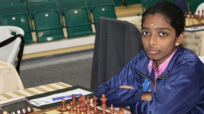Young R Vaishali stuns former world champion Antaoneta Stefanova