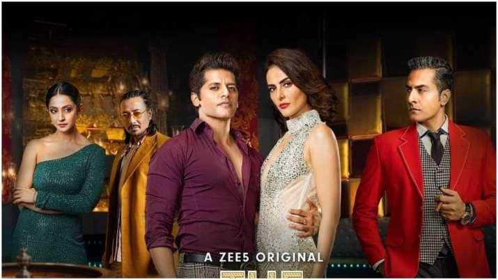 Karanvir Bohra's promotes upcoming web series through 'Casino Nights With KV'