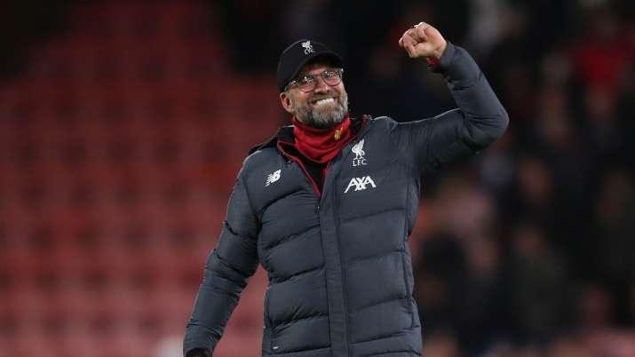 Jurgen Klopp urges Liverpool fans to celebrate title win with restraint