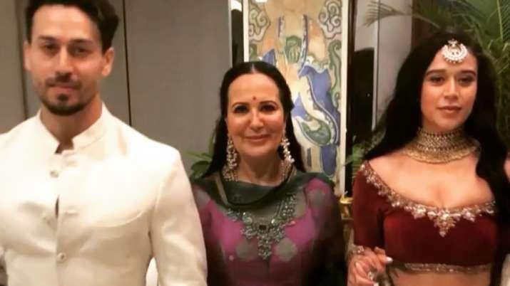 Tiger Shroff, Krishna wish mother Ayesha on birthday