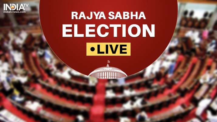 Rajya Sabha Election: Voting for 19 seats underway; Congress, BJP set for close fight