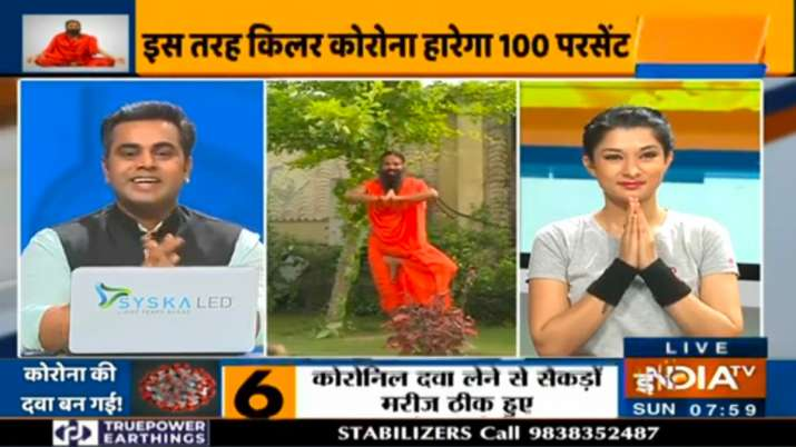 Swami Ramdev shares cure for coronavirus through Ayurvedic medicine, yogasanas and daily pranayam