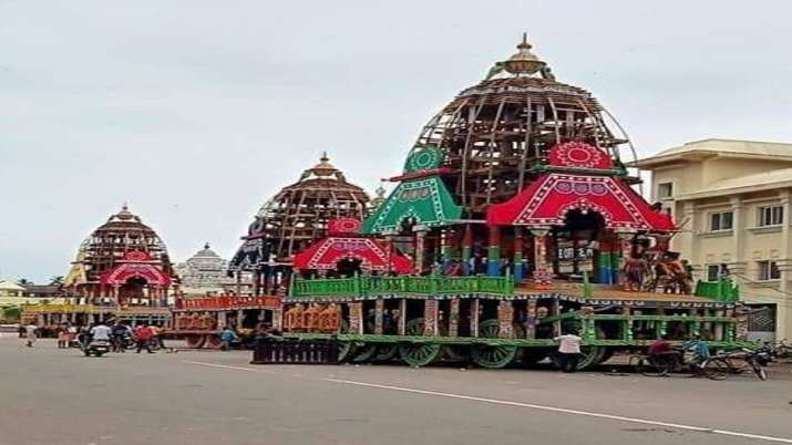 No regular Rath Yatra, chariot to move within temple premises