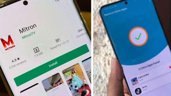 remove china apps, apps, app, mitron, mitron app, mitron short video sharing app, remove china apps