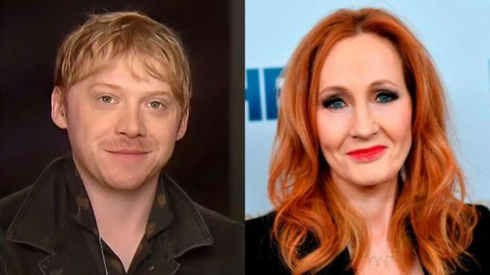 Ron aka Rupert Grint from Harry Potter stands with trans people after JK Rowling defends her comment
