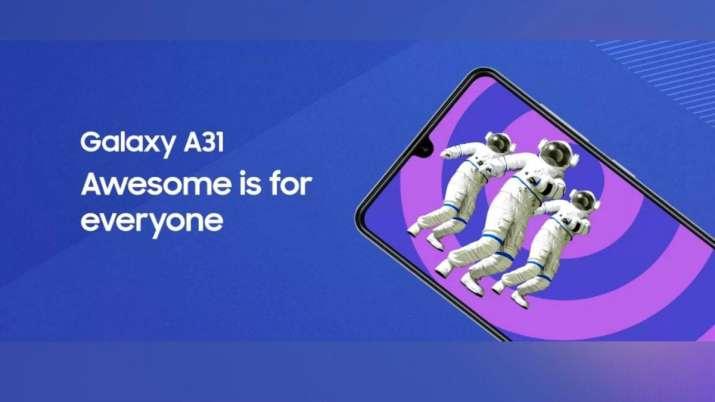 Samsung, samsung galaxy a31, galaxy a31 price in india, galaxy a31 specifications, galaxy a31specs,