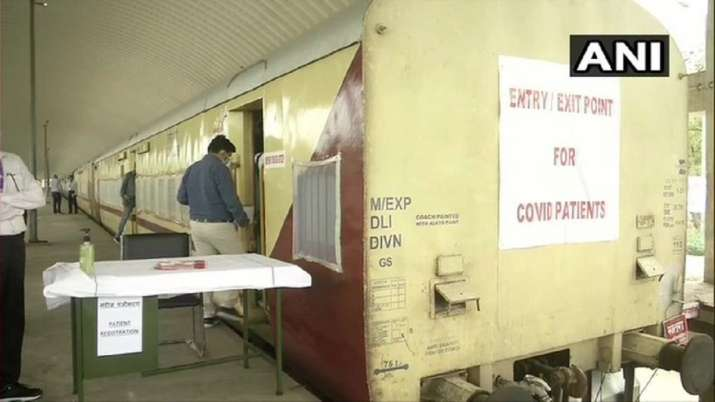 Railways isolation coaches facility in Delhi's Shakur Basti gets its first suspected COVID patient