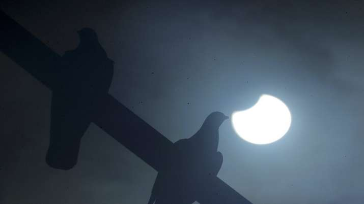 India Tv - Solar Eclipse 2020, Solar eclipse photos, Hyderabad, Solar eclipse world photos