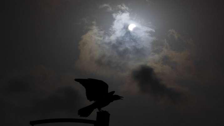 India Tv - Solar Eclipse photos, Solar eclipse 2020, Solar eclipse world photos