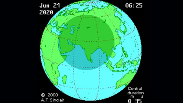 India Tv - Solar Eclipse 2020, Solar eclipse photos, Solar Eclipse videos