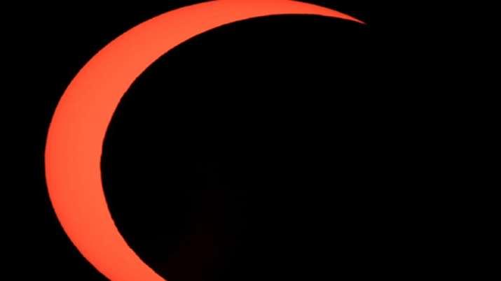 India Tv - Solar Eclipse 2020, Solar eclipse India photos, Solar Eclipse world photosq