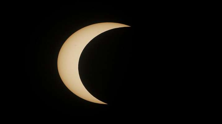 India Tv - Solar Eclipse 2020, Solar Eclipse Pakistan, Solar eclipse photos, Solar eclipse world photos