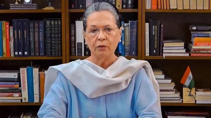 Crisis along LAC attributable to govt's mismanagement: Sonia Gandhi