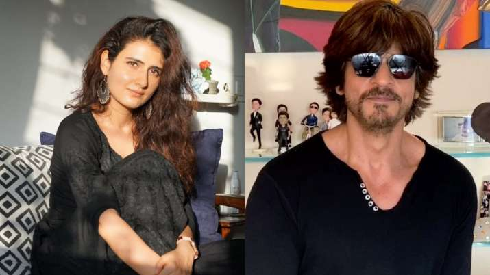 Dangal fame Fatima Sana Shaikh wishes to do romantic scene with Shah Rukh Khan atop Eiffel tower