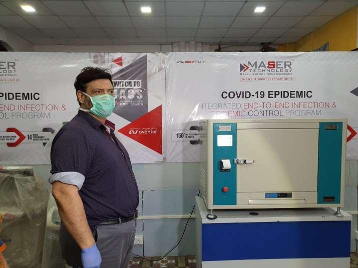 IITR develops sterlizing machine for N95 masks, PPE kits