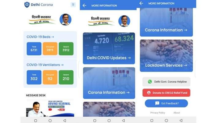 India Tv - delhi corona mobile app, mobile app for coronavirus, mobile app for patients, delhi mobile app for p