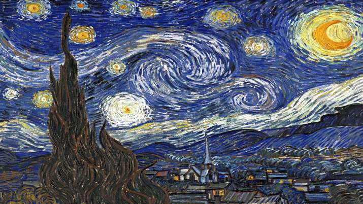 India Tv - Vincent Van Gogh, The Starry Night painting