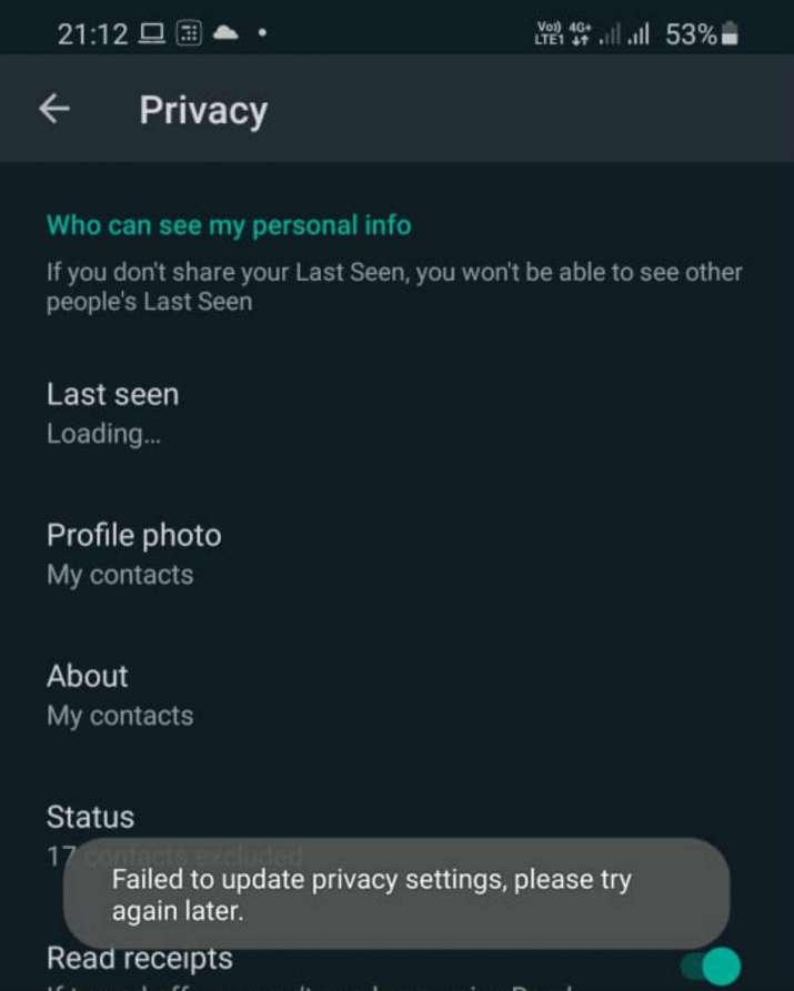 India Tv - whatsapp, whatsapp down, media files, stickers, whatsapp not working, last seen issue, whatsapp issu