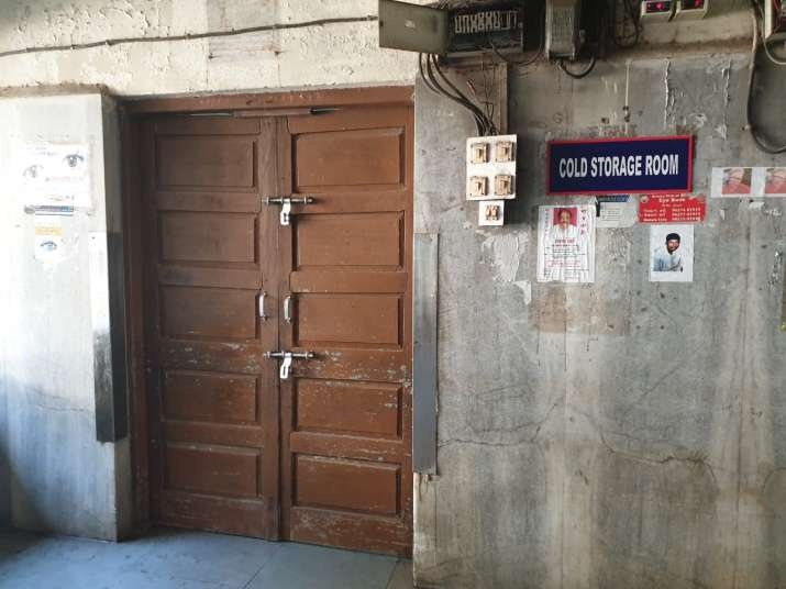India Tv - Cold storage where Sushant Singh Rajput's body has been kept