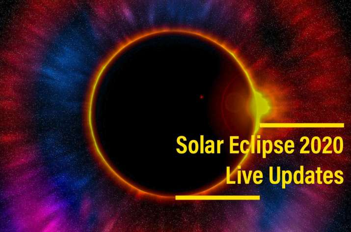 Solar Eclipse 2020 Live Updates Photos Videos Surya Grahan 2020 Time In Your City Solar News India Tv