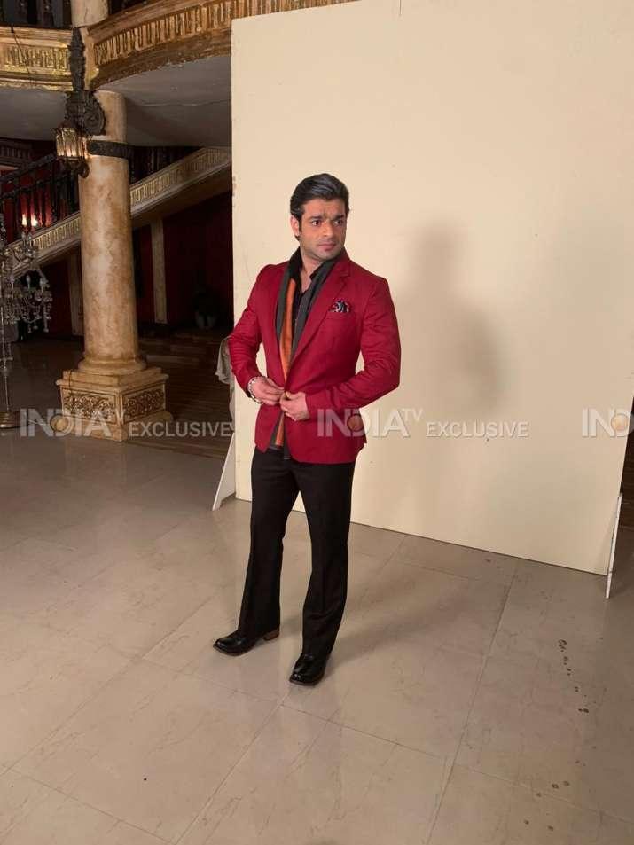 India Tv - Karan's look as Mr Bajaj