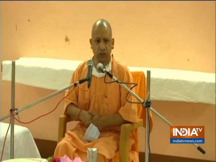 live Ayodhya,Yogi Adityanath,Ram Temple,Ayodhya Ram Mandir,Ram Temple Ceremony,PM Modi,Ram Mandir Tr
