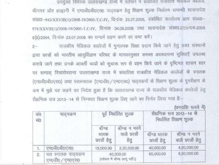 India Tv - Government medical colleges Uttarakhand
