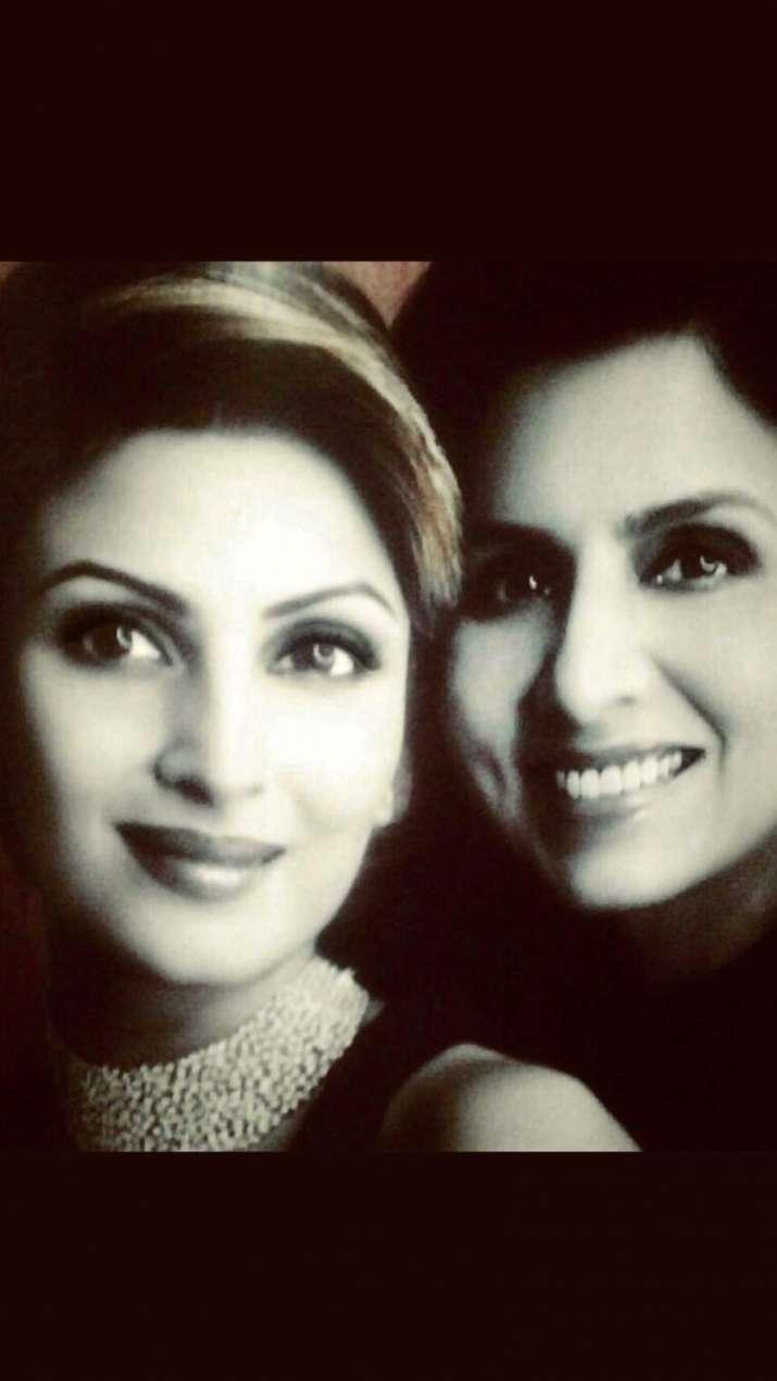 India Tv - Neetu Kapoor's birthday celebration with daughter Riddhima