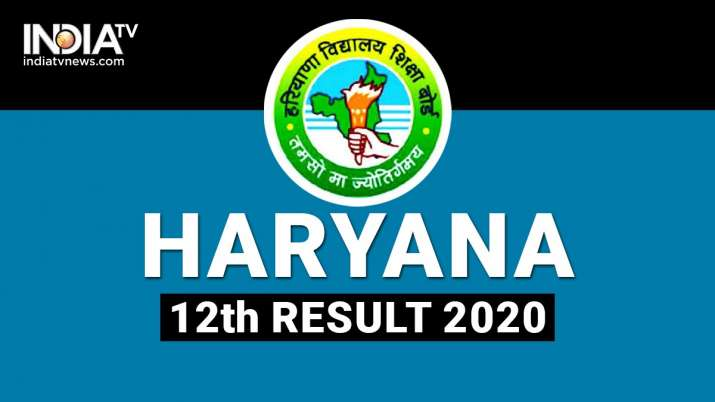 HBSE 12th Result HBSE Result 12th 2020 HBSE 12th Class Result HBSE 12 Result 2020 Haryana Board Resu
