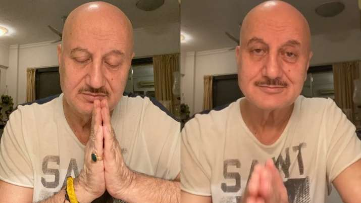Anupam Kher thanks everyone for their concern after mother and other family members test COVID-19 po