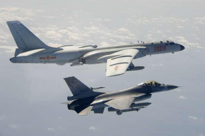 'Chinese military exercises simulating attack on Taiwan'