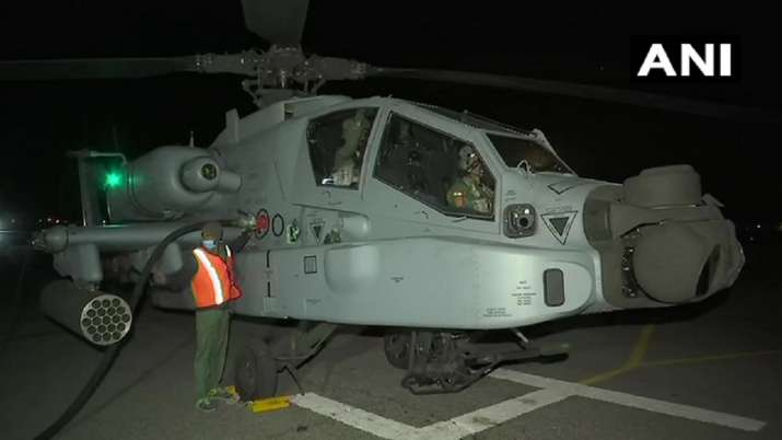 India Tv - Apache helicopter, India China air base, IAF night operations