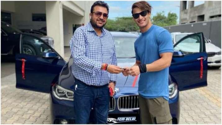 asim riaz dream car bigg boss 13 contestant