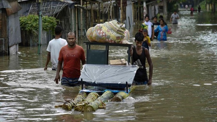 Over 26 lakh hit, 2 more die as Assam flood situation deteriorates