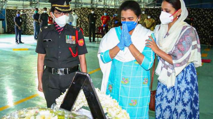 Widow of colonel killed in Ladakh clash appointed Deputy Collector