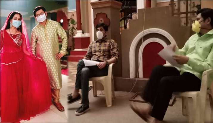 Bhabiji Ghar Par Hain team follows guidelines by maintaining social distancing while rehearsing thumbnail