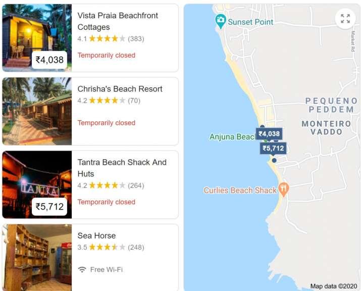 India Tv - Shacks in Goa still closed