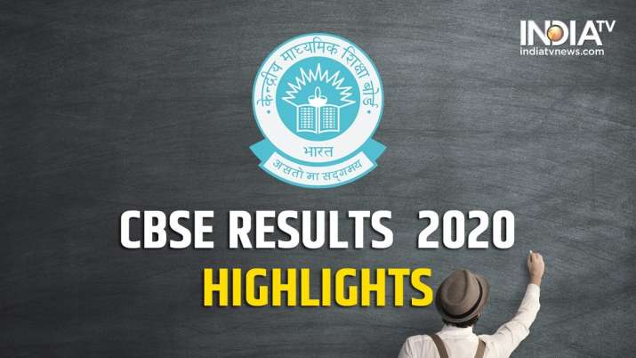 CBSE Result 2020 declared, CBSE Board Class 12 result declared, CBSE Class 12 result 2020 declared