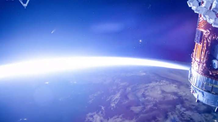 India Tv - Comet NEOWISE, Comet NEOWISE photo, Comet NEOWISE video, International Space Station