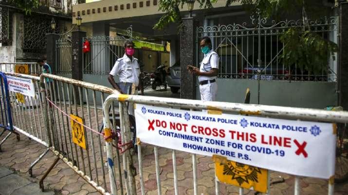 coronavirus, containment zone, Kolkata, COVID19