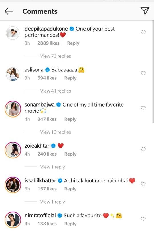 India Tv - Deepika's comment on Ranveer's video