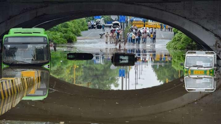 India Tv - Delhi rains, Minto Bridge, monsoon