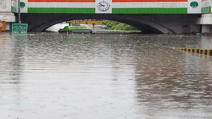 Delhi rains, Minto Bridge